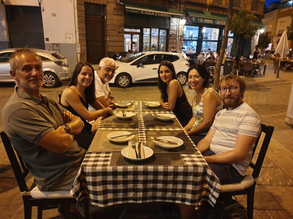En Andalousie, on a de la visite!